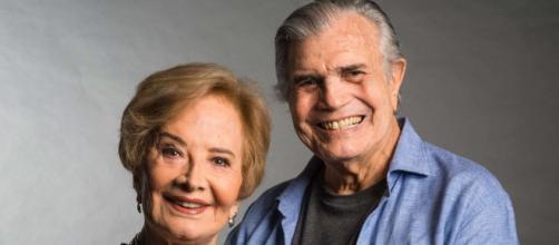 Tarcísio Meira e Glória Menezes estão internados (Arquivo Blasting News)