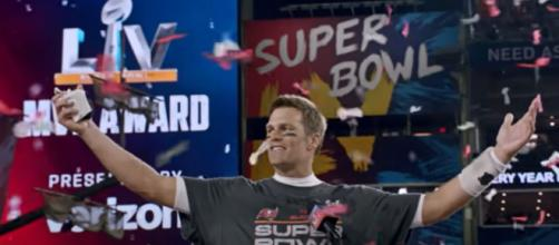 Brady steered the Bucs to a Super Bowl win last season (Image source: Tampa Bay Buccaneers/YouTube)