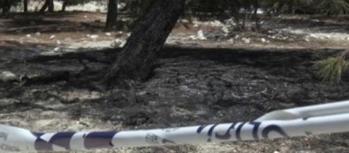 Descampado de Vallecas donde apareció el cadáver (Policía Nacional)