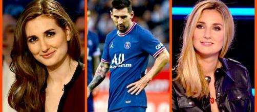 Marie Portolano se moque de Lionel Messi, elle se fait détruire sur la toile (capture YouTube et montage video)