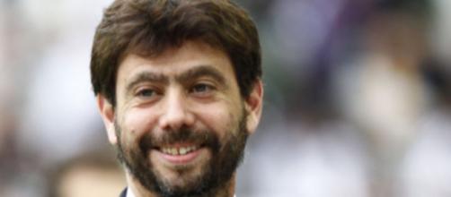 Andrea Agnelli, presidente della Juventus.