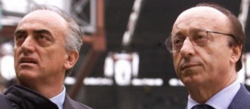 Antonio Giraudo e Luciano Moggi.
