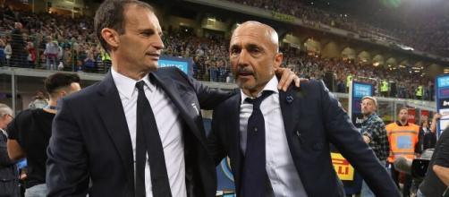 Spalletti e Allegri si sfidano in Napoli-Juventus.