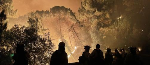 Un bombero fallece en el incendio de Sierra Bermeja (Infoca)