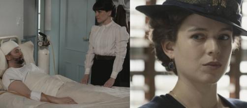 Una vita, spoiler Spagna: Genoveva impedisce a Laura di uccidere Felipe in ospedale.