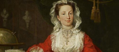 William Hogarth's portrait of Miss Mary Edwards (Image source:: Lidiya G/Flickr)