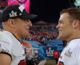 Brady and Gronk celebrate their Super Bowl LV win (Image source: NFL/YouTube)