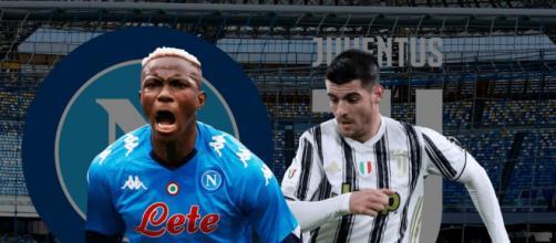 Alvaro Morata porta in vantaggio la Juventus, poi il Napoli reagisce e vince.