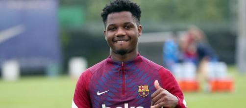 Ansu Fati, punta del Barcellona.