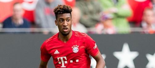 Kingsley Coman, centrocampista del Bayern Monaco.