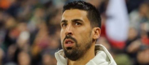Sami Khedira, ex centrocampista della Juventus.