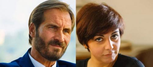 Un posto al sole, Alberto Palladini (Maurizio Aiello) e Mariella Altieri (Antonella Prisco).
