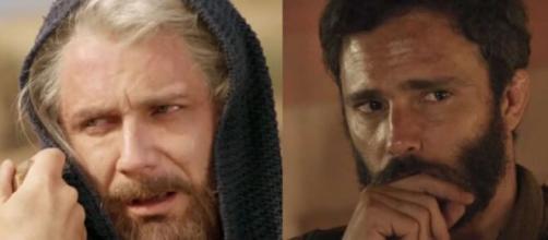 Israel e Judá em 'Gênesis' (Fotomontagem/Reprodução/Record TV)