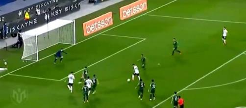 Le 'golazo' de Messi avec l'Argentine contre la Bolivie (capture YouTube)