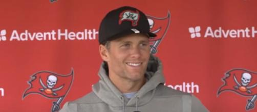Brady threw 4 touchdown passes vs Cowboys (Image Credit: Tampa Bay Buccaneers/YouTube)