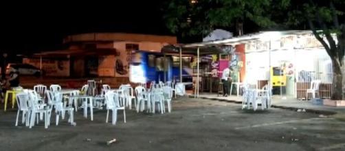 Caso de violência por arma de fogo faz várias vítimas em SP (Reprodução/EPTV)