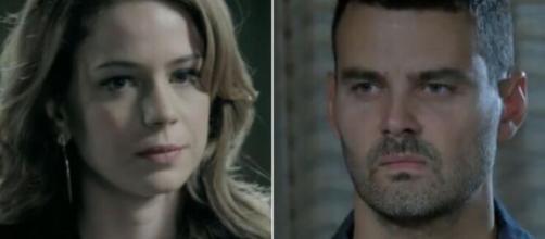 Cristina e Maurílio em 'Império' (Fotomontagem/Reprodução/TV Globo)