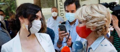 Esperanza Aguirre cree que Ayuso debe dirigir el PP en la Comunidad de Madrid (@esperanzaguirre)