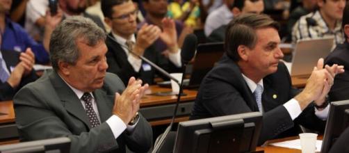 Ex-deputado Alberto Fraga se afasta de Bolsonaro (Antônio Araújo/Agência Câmara)