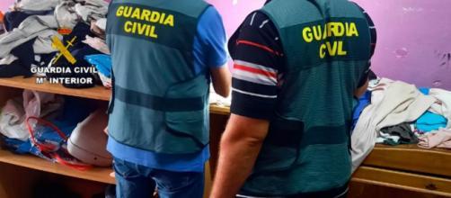 La Guardia Civil registró las viviendas de las dos mujeres (Twitter, guardiacivil)
