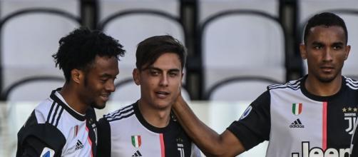 Malmo-Juventus: Dybala, Cuadrado e Danilo.