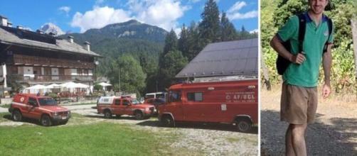 Ritrovato il corpo di Federico Lugato: l'escursionista era disperso da 18 giorni sulle Dolomiti bellunesi.