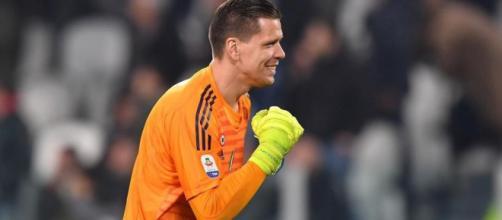 Szczesny, portiere della Juventus.