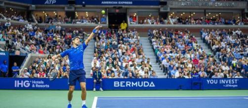 US Open, un momento del torneo.