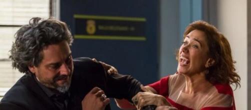Zé e Cristina em 'Império' (Reprodução/TV Globo)