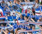 Sampdoria, tifosi, Gradinata Sud.