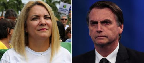 Bolsonaro teria mudado suposto esquema após descobrir traição da ex-mulher (Fotomontagem)