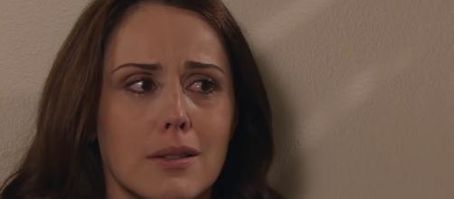 Adriana descobre a verdade em 'Amores Verdadeiros' (Divulgação/Televisa)