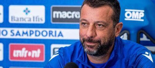 D'Aversa, tecnico della Sampdoria.