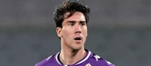 Dusan Vlahovic, punta della Fiorentina.