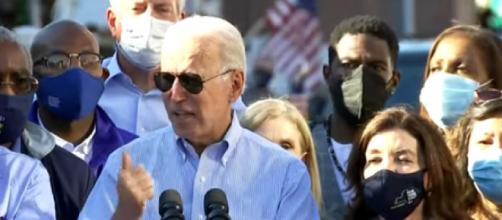 "Hurricane Ida: President Joe Biden tours flood-hit areas, calls climate change ""existential threat"" (Image source: Global News/YouTube)"