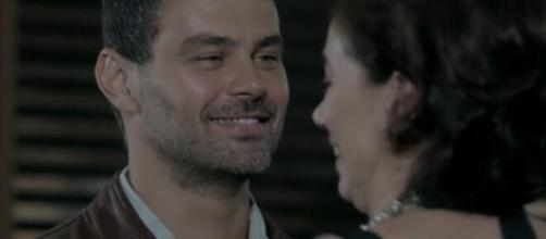 Maurílio e Marta em 'Império' (Reprodução/TV Globo)