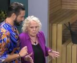 Grande Fratello Vip: Katia Ricciarelli deride Alex Belli con una parola omofoba.