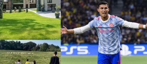 Cristiano Ronaldo cambia casa a causa delle pecore rumorose.