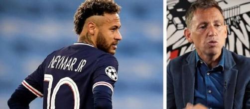 """Daniel Riolo regrette le """"génie Neymar"""" (capture YouTube et montage photo)"""