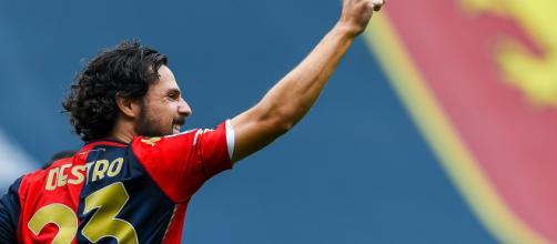 Verso Genoa-Fiorentina, Caicedo non ce la fa, attacco tutto in mano a Destro.