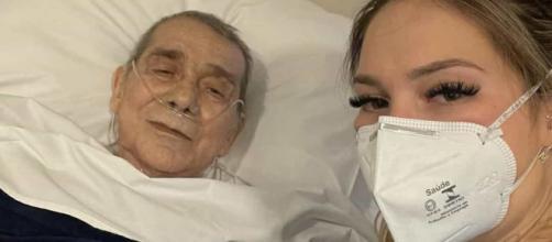 Virgínia Fonseca visita pai no hospital e pede orações (Reprodução/Redes sociais)