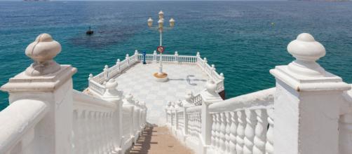 'El balcón del Mediterráneo' en el Castillo de Benidorm fue el lugar donde la joven cayó al agua tras realizarse una selfie (Flickr)