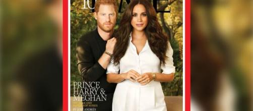 Harry and Meghan named in Time's 100 most influential list (Image source: Time Magazine)