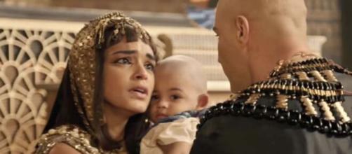 Kamesha e Shesi em 'Gênesis' (Reprodução/Record TV)