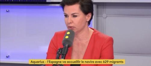 Laurence Saillet, chroniqueuse dans Balance Ton Post. Source: Capture d'écran France 2