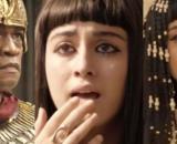 Potifar, Amarílis e Kamesha em 'Gênesis' (Fotomontagem/Reprodução/Record TV)