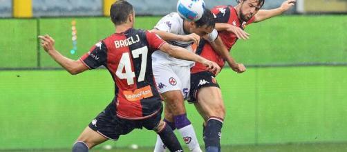 Genoa ko contro la Fiorentina, fra i liguri si salvano in pochissimi.