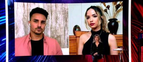 Manuel y Lucía de 'La isla de las tentaciones' Fuente: Telecinco