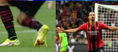 Quand Ibrahimovic fait du Zlatan ! (capture YouTube et montage photo)