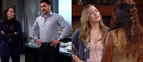Beautiful, trame al 25/09: Bill si ribella ai piani di Quinn, Hope in ansia per Steffy.